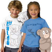 teddy bear tee shirts for kids